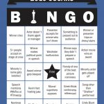 Download Oscars Bingo Cards And Play Along With Laist: Laist