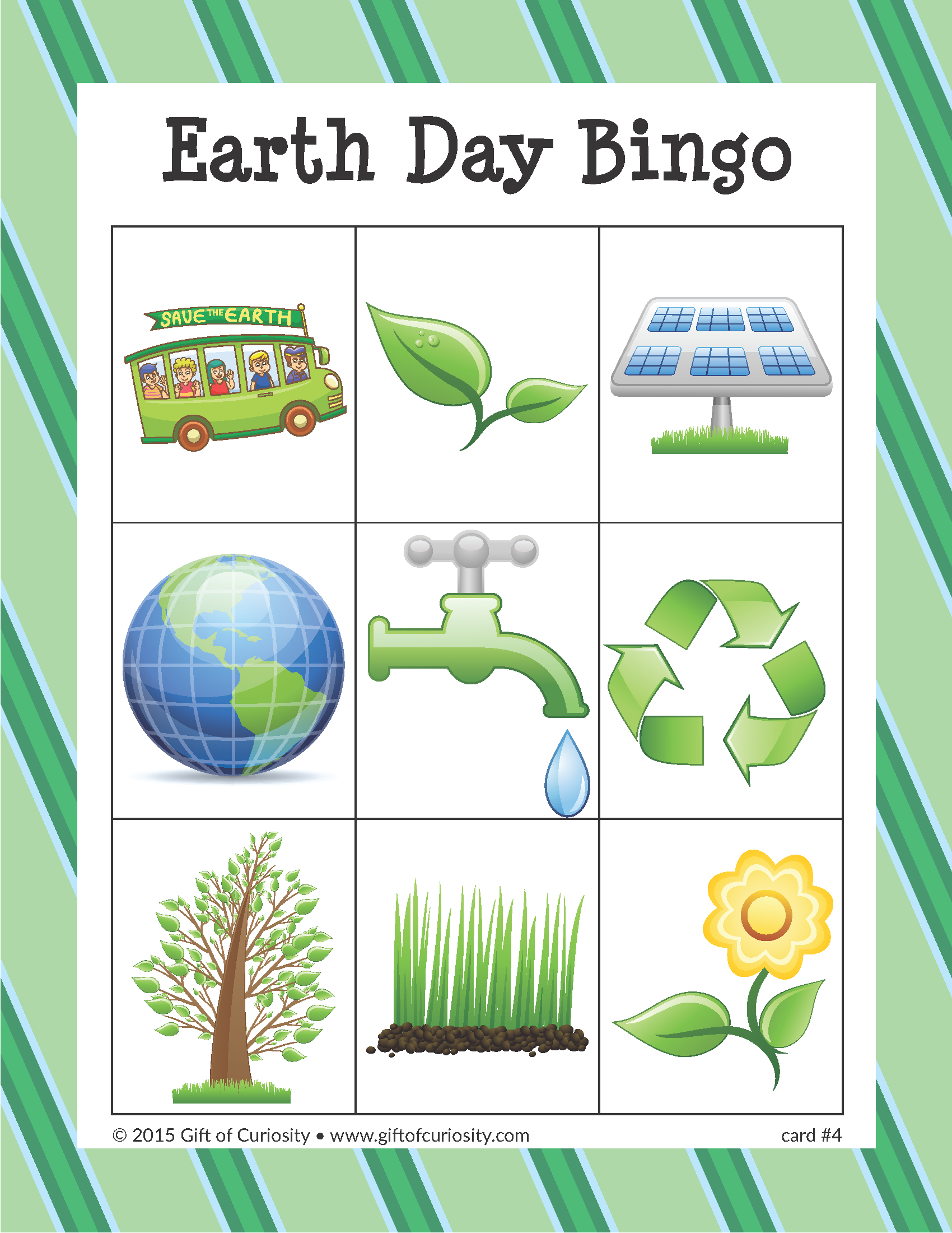 Earth Day Bingo | Earth Day Games, Earth Day, Earth Day
