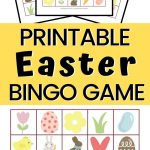 Easter Bingo Free Printable With 10 Different Bingo Cards