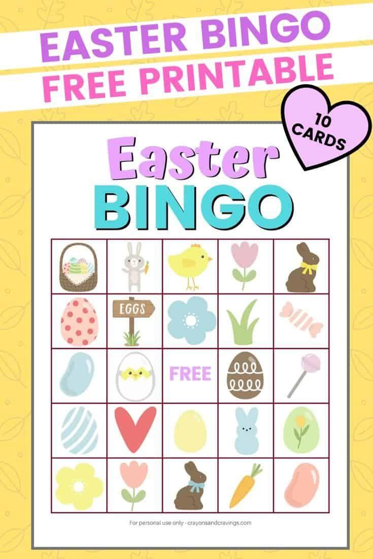 Easter Bingo In 2020 (With Images) | Easter Bingo, Easter