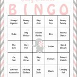 Elephant Baby Shower   Baby Bingo Cards   Printable Download