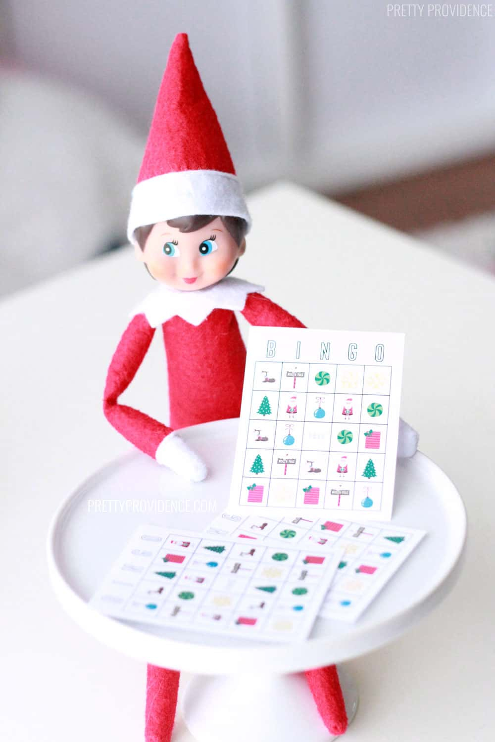 Elf On The Shelf Bingo Printable - Pretty Providence