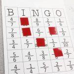 Equivalent Fraction Bingo   Fractions, Math, Fractions