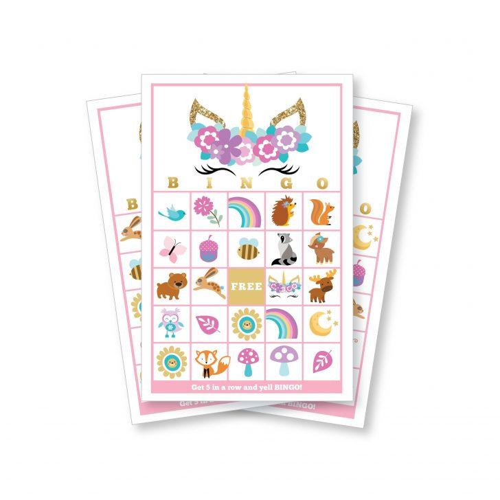 Printable Unicorn Bingo Cards