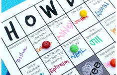 Family Reunion: Get-To-Know-You Bingo