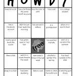 Family Reunion: Get To Know You Bingo | Family Reunion Games