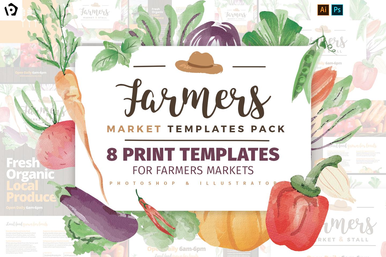 Farmers Market Templates Packbrandpacks - Brandpacks