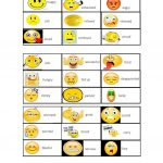 "Feelings Bingo""   English Esl Worksheets For Distance"