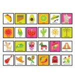 Fiesta Bingo Game   Kid's Printable Bingo Game   Bingo Game