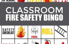 Fire Safety Bingo Game For Classrooms | Bingo, Classroom