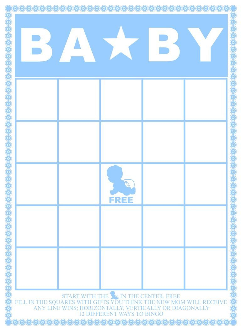 Free Baby Shower Bingo Cards Your Guests Will Love | Baby