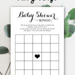 Free Baby Shower Printable – Baby Bingo   Instant Download