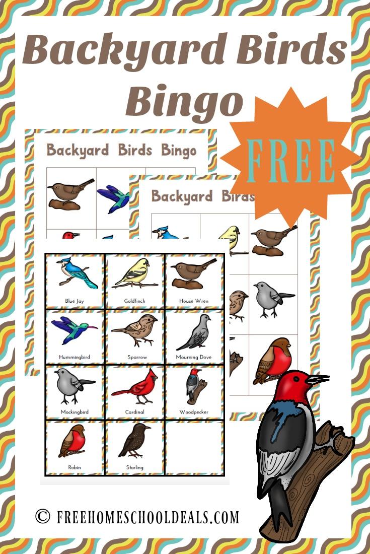 Free Backyard Birds Pack