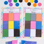 Free Bingo Colors Printable Game | Preschool Colors