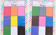 Free Bingo Colors Printable Game | Preschool Colors