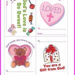Free Christian Valentine's Printables For Kids. Courtesy Of