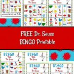 Free Dr. Seuss Bingo Printable | Dr Seuss Crafts, Dr Seuss