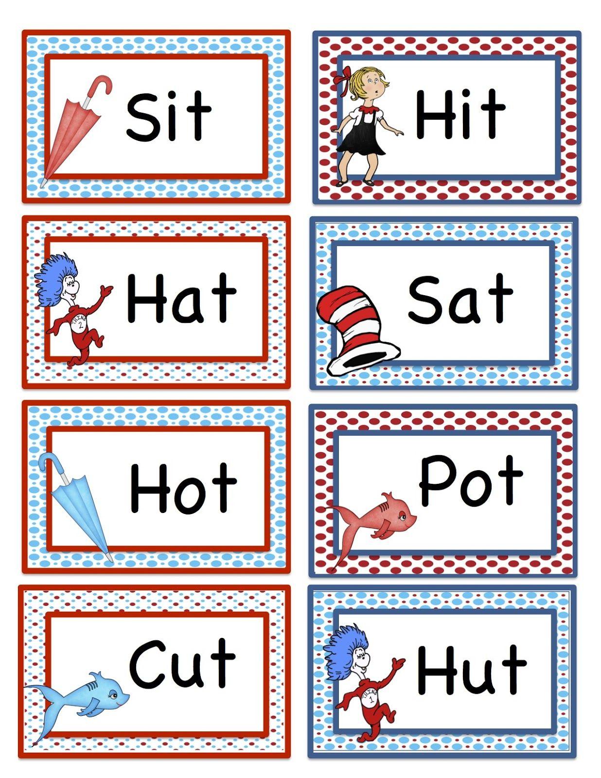 Free Dr. Suess Printables | Preschool Printables: Seuss
