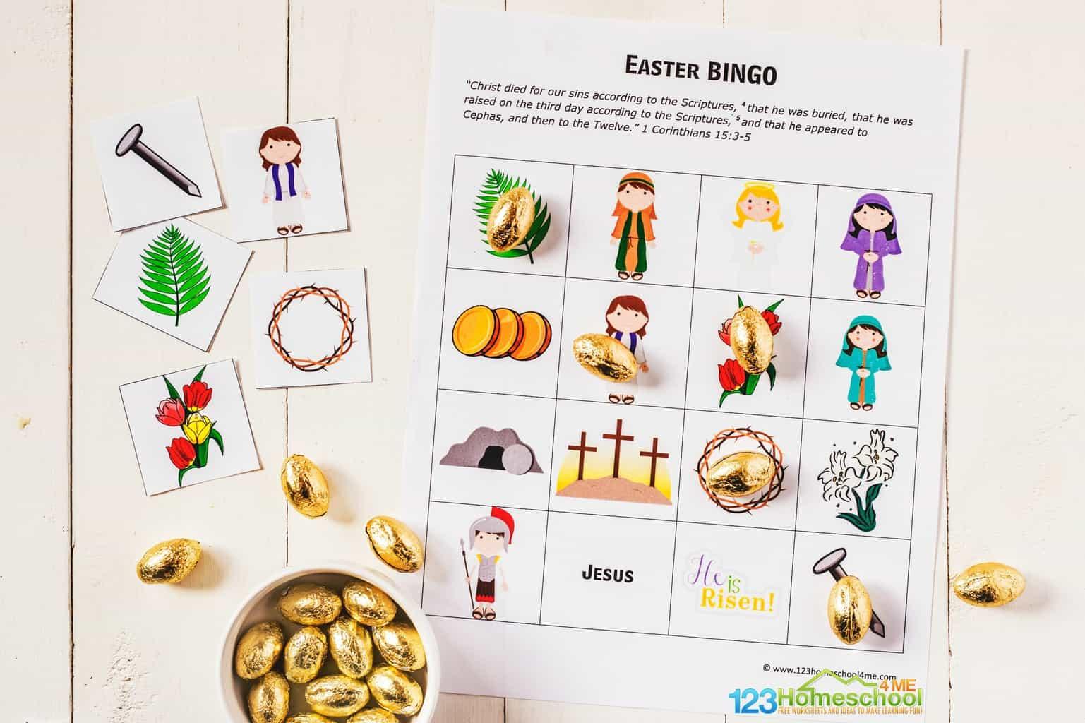 Free Easter Bingo Game