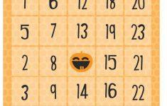 Free Halloween Printables – Bingo