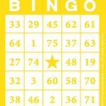 Free Online Printable Bingo Cards   Bingocardprintout