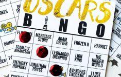 Free Printable 2020 Oscars Bingo Cards – Play Party Plan