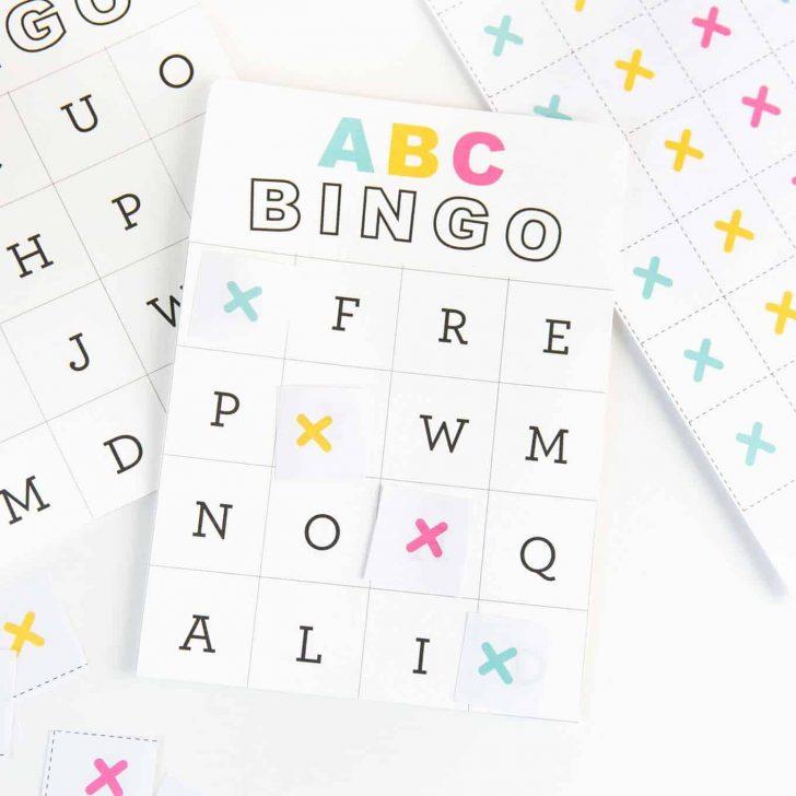 Free Printable ABC Bingo Cards