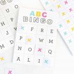Free Printable Alphabet Bingo   Design Eat Repeat