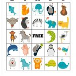 Free Printable Animal Bingo Cards For Toddlers And
