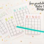 Free Printable Baby Shower Bingo Cards   Project Nursery