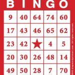 Free Printable Bingo Card Template   Bingocardprintout