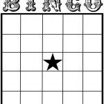 Free Printable Bingo Card Template   Set Your Plan & Tasks