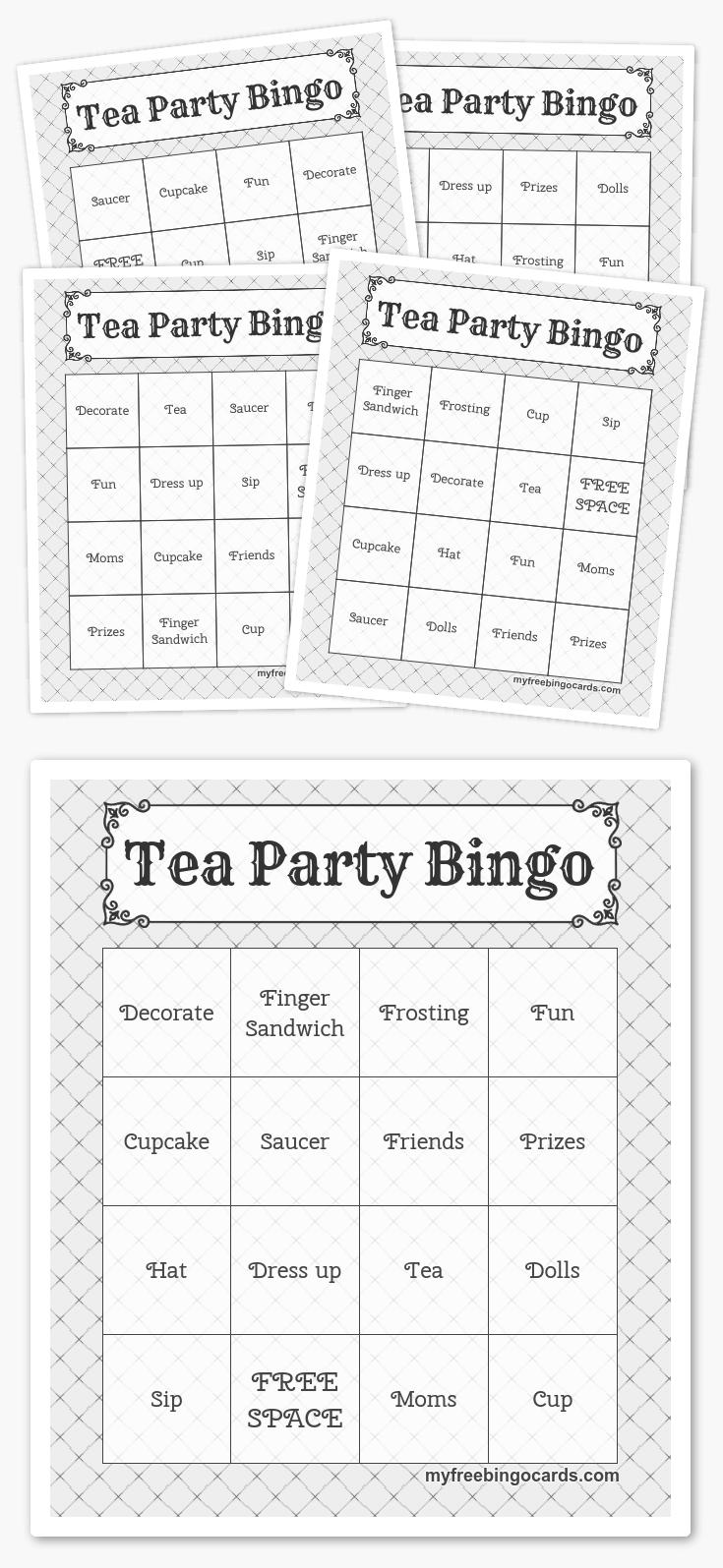 Free Printable Bingo Cards - Activiteiten, Harry Potter En