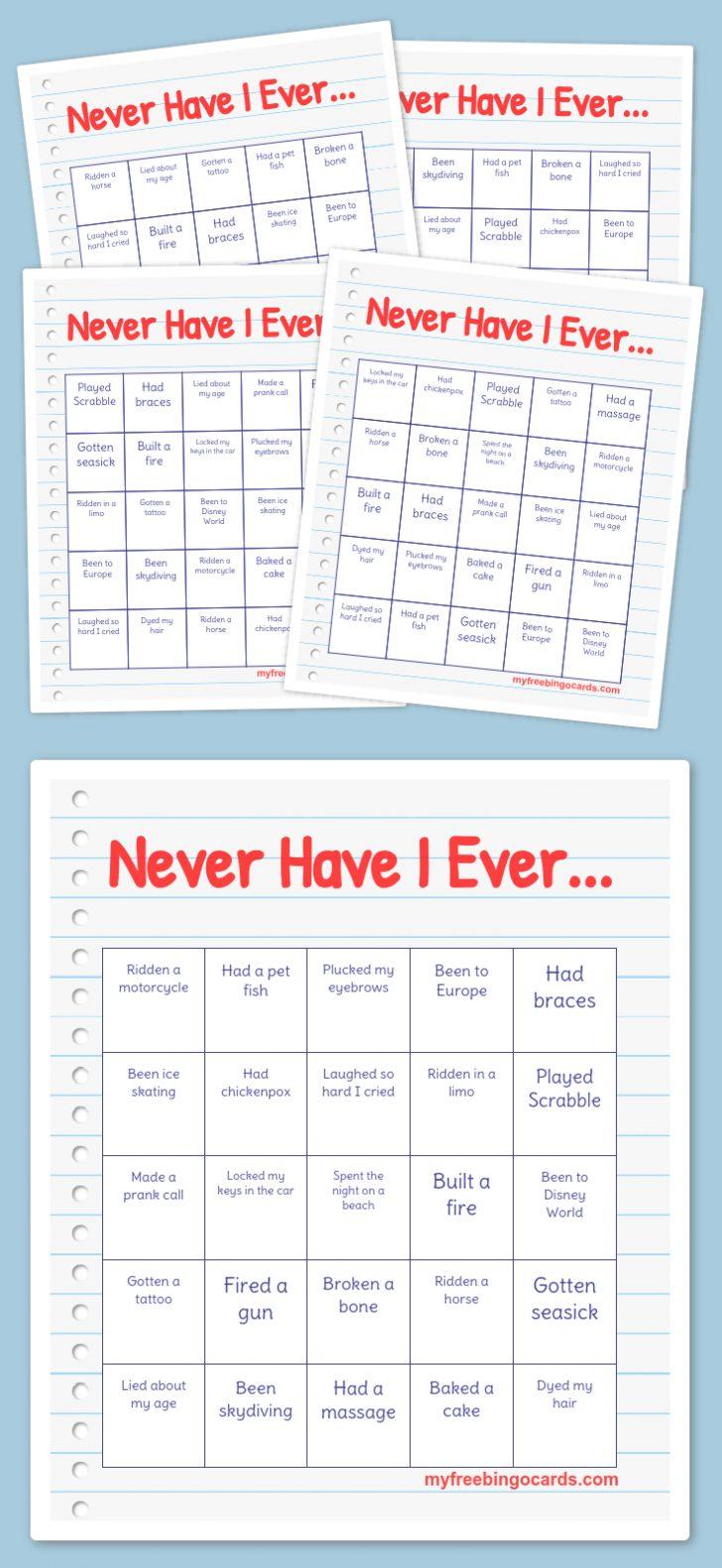Free Bingo Card Generator Printable