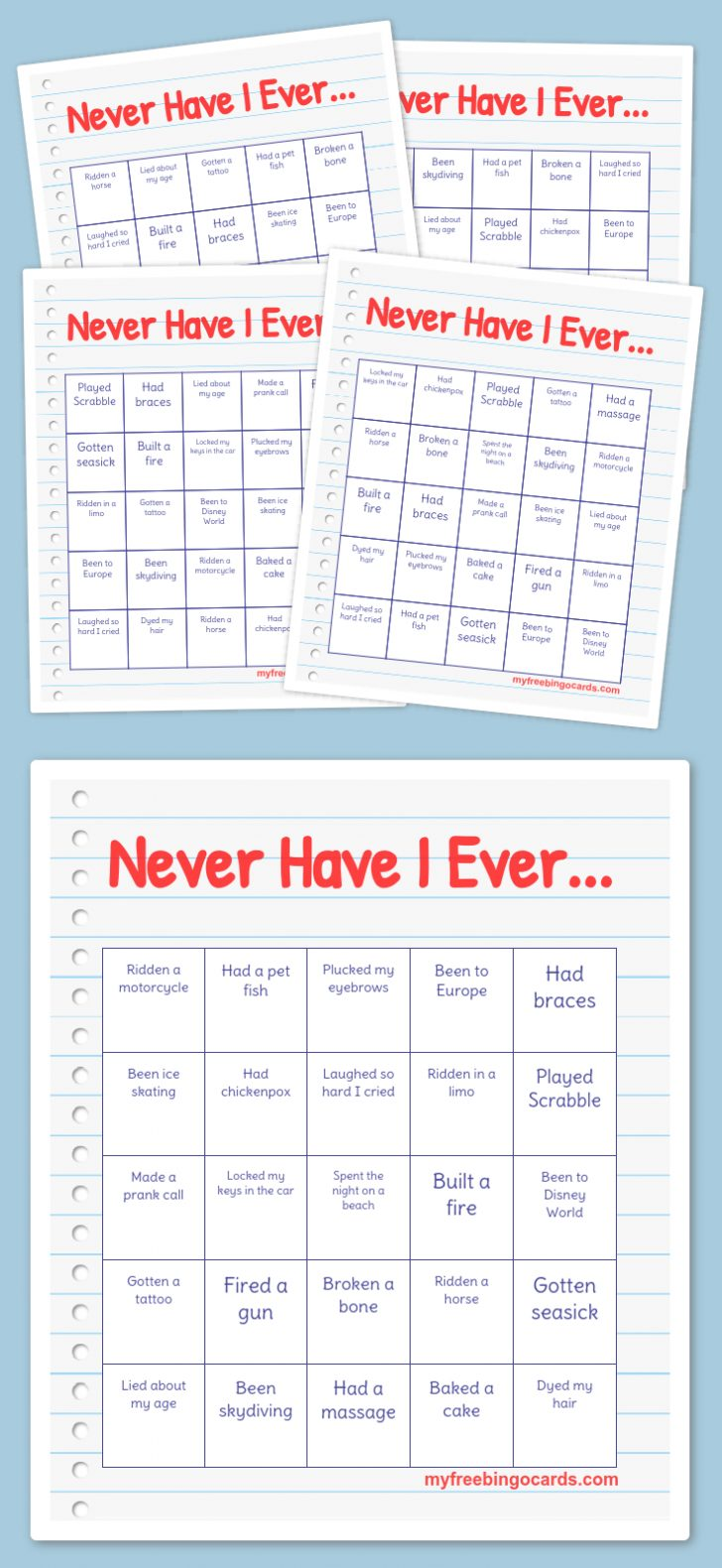 Bingo Card Generator Free Printable