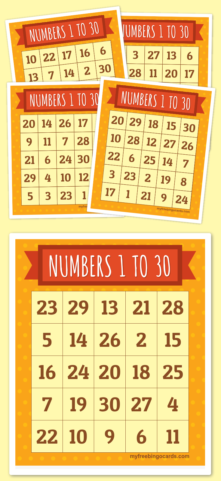 Free Printable Bingo Cards | Bingo Cards, Bingo Printable