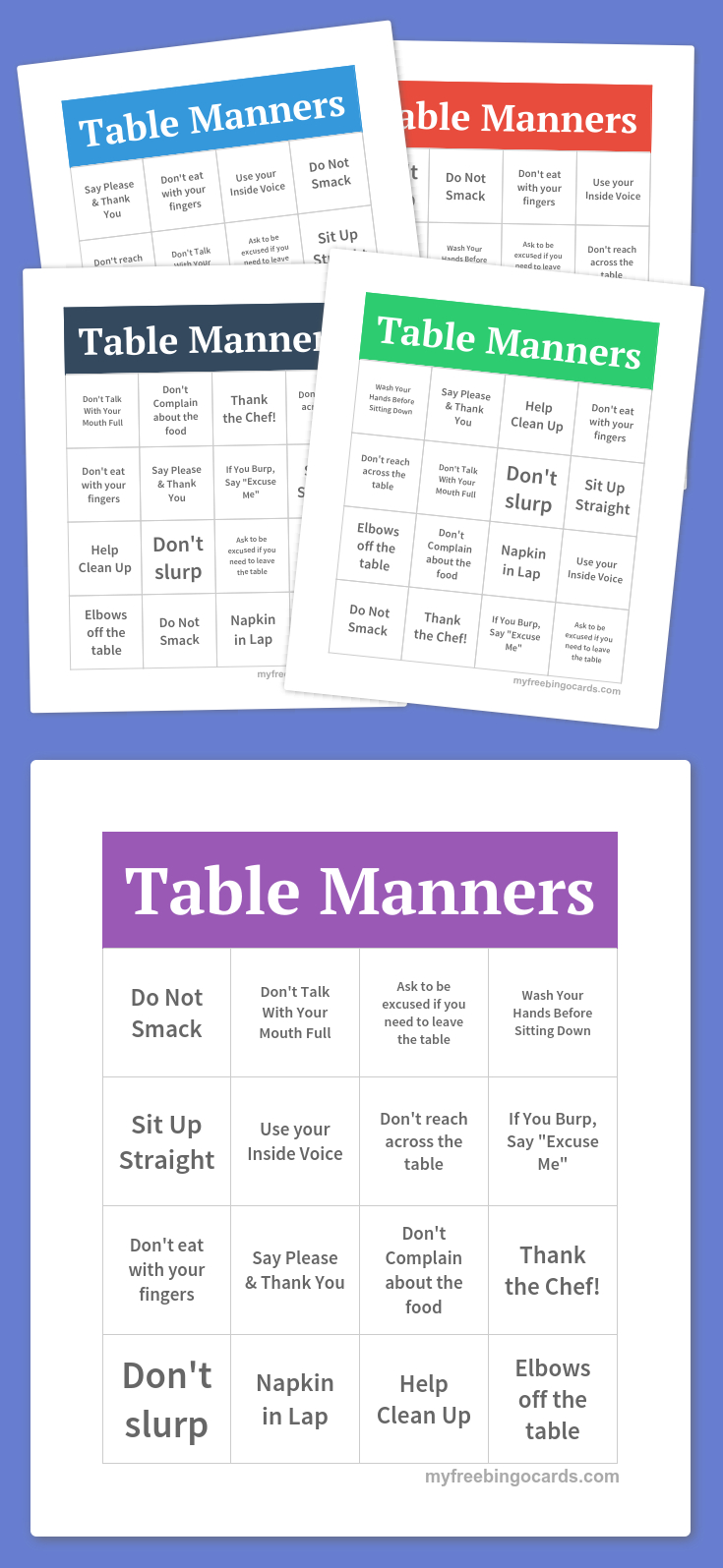 Free Printable Bingo Cards | Bingo Cards Printable