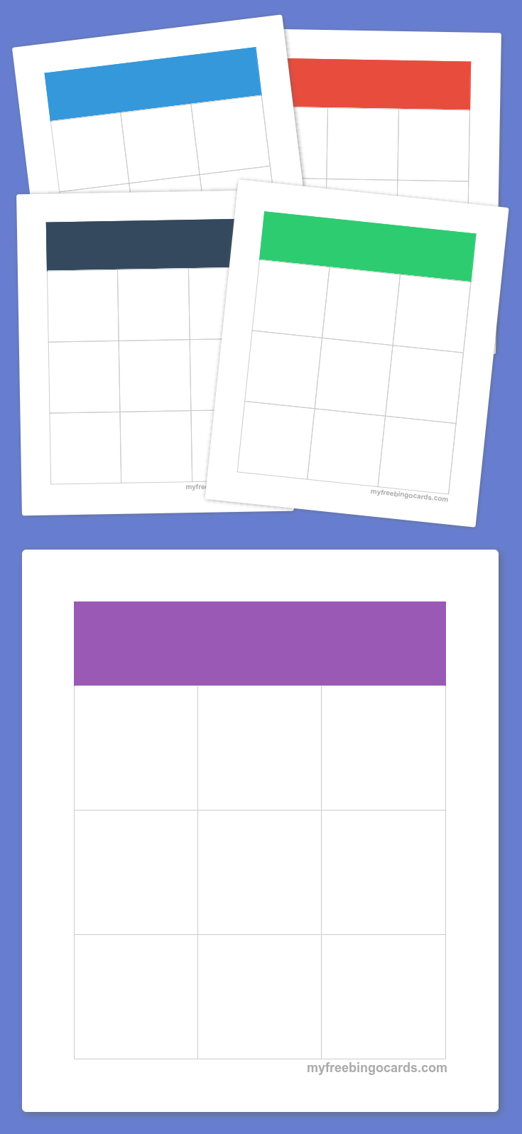 Free Printable Bingo Cards - Bingo, Kinderyoga En Prints
