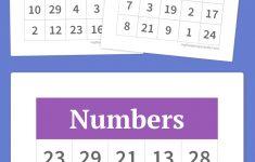 Free Printable Bingo Cards | Bingo, Voor Kinderen