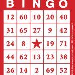 Free Printable Bingo Cards   Bingocardprintout
