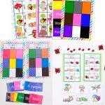 Free Printable Bingo Cards For Kids   Bingo, Spelborden En