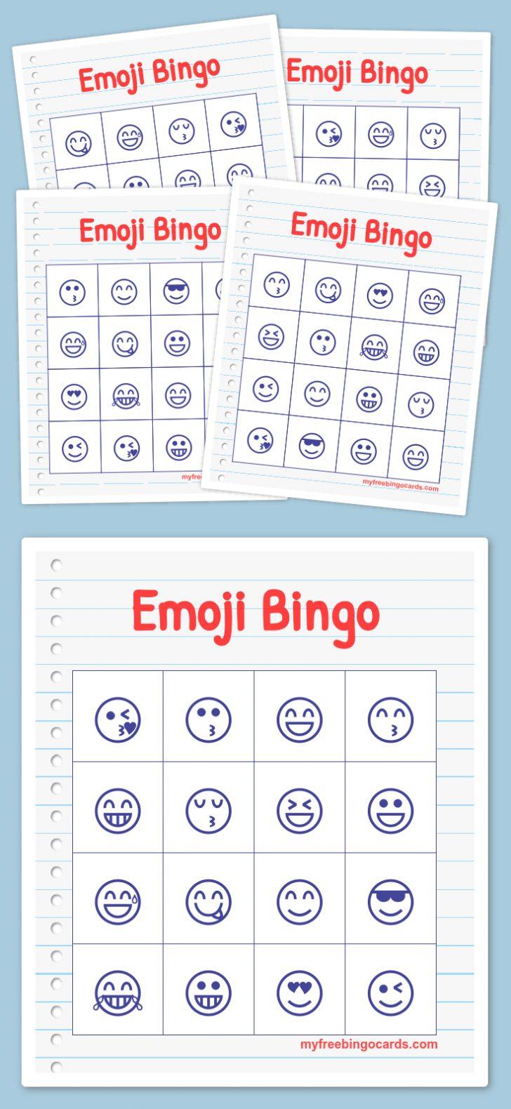 Free Printable 50s Diner Bingo Cards