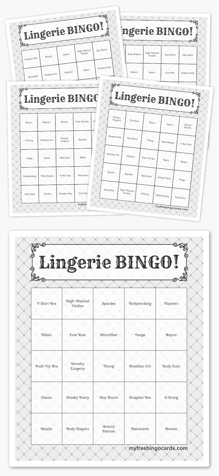 Free Printable Bingo Cards | Free Printable Bingo Cards