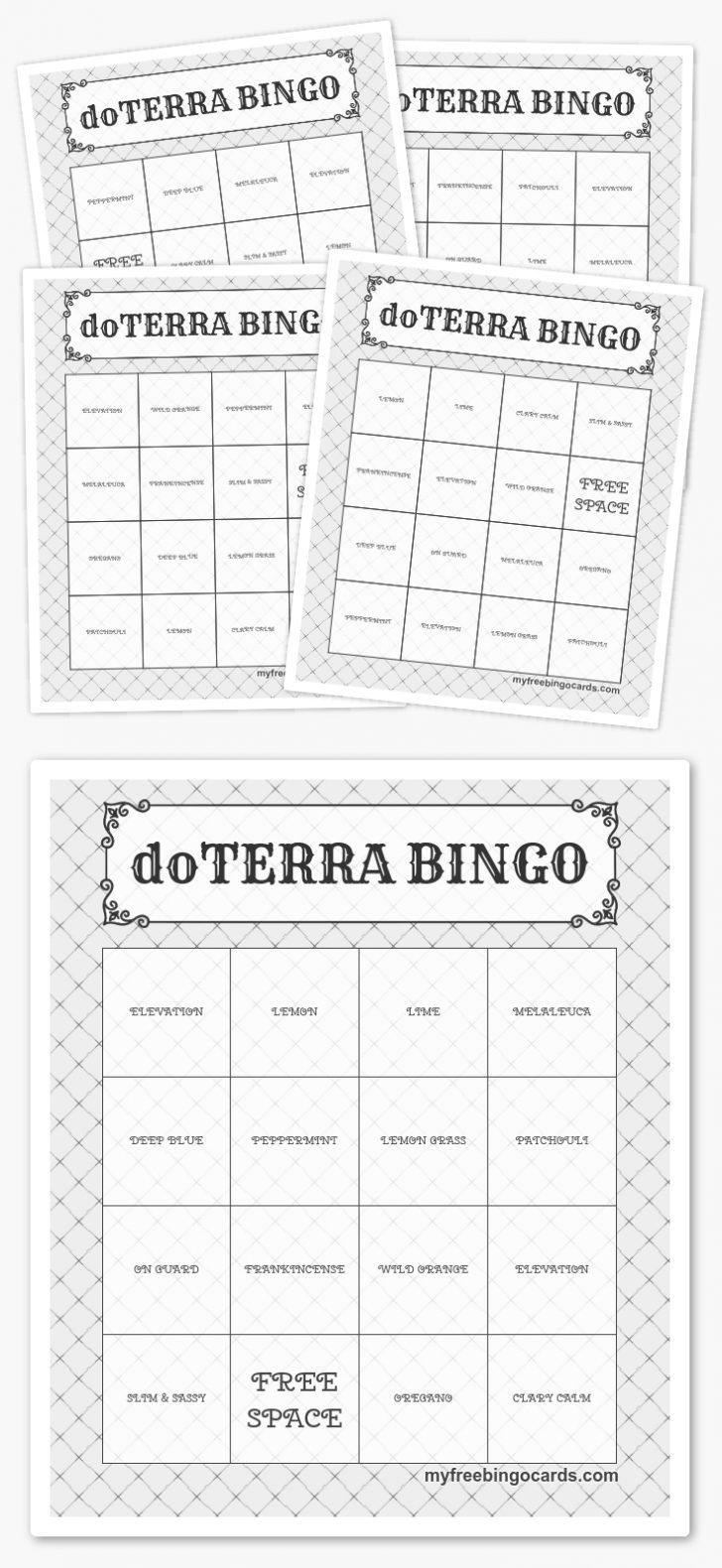 Free Printable Bingo Cards Online