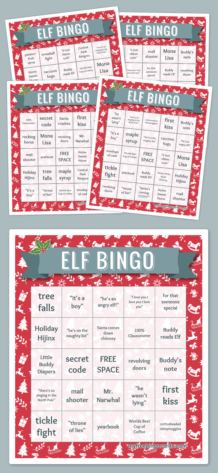 Free Printable Bingo Cards | Free Printable Bingo Cards