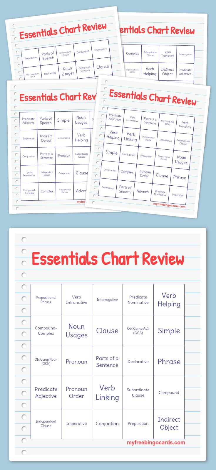 Free Printable Bingo Cards   Word Bingo, Free Bingo Cards
