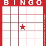 Free Printable Blank Bingo Cards   Blank Bingo Cards, Bingo