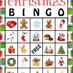 Free Printable Christmas Bingo Cards | Christmas Bingo