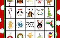 Free Printable Christmas Bingo Game – Kerstbingo, Kerst