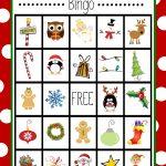 Free Printable Christmas Bingo Game   Kerstbingo, Kerst